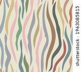 seamless multicolored zebra... | Shutterstock .eps vector #1963085815