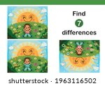find 7 differences education... | Shutterstock .eps vector #1963116502