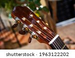 Headstock Of A Spanish Guitar...