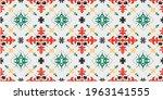 bandana print. vector seamless... | Shutterstock .eps vector #1963141555