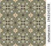 bandana print. vector seamless... | Shutterstock .eps vector #1963141558