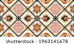 bandana print. vector seamless... | Shutterstock .eps vector #1963141678