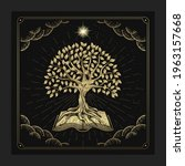 the tree of knowledge with...   Shutterstock .eps vector #1963157668