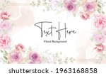 floral background with soft...   Shutterstock .eps vector #1963168858
