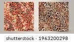 abstract animal skin leopard...   Shutterstock .eps vector #1963200298