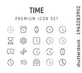 premium pack of time line icons....