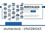 nostalgia and memory landing...   Shutterstock .eps vector #1963284265