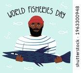World Fisheries Day Hand...