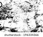 grunge texture. vector... | Shutterstock .eps vector #196334366