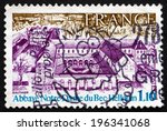 france   circa 1978  a stamp... | Shutterstock . vector #196341068