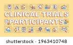clinical trial participants...