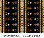 seamless pattern decorated with ... | Shutterstock .eps vector #1963411465