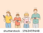 technologies and shock concept. ... | Shutterstock .eps vector #1963459648