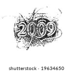 vintage 2009 | Shutterstock . vector #19634650
