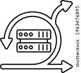 agile server concept  web... | Shutterstock .eps vector #1963476895