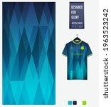 soccer jersey pattern design.... | Shutterstock .eps vector #1963523242