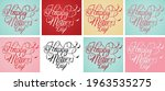 happy mothers day handwriting... | Shutterstock .eps vector #1963535275
