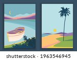 abstract coloful landscape... | Shutterstock .eps vector #1963546945