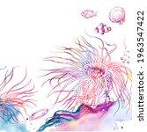Colorful Sea Anemone Reef...