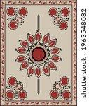 orient carpet suzani  ...   Shutterstock .eps vector #1963548082