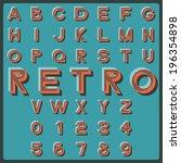 design elements. vector... | Shutterstock .eps vector #196354898
