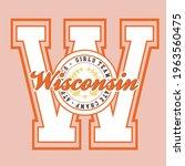 retro college varsity font...   Shutterstock .eps vector #1963560475