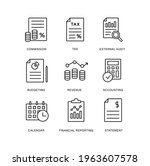 financial reporting  fiscal...   Shutterstock .eps vector #1963607578
