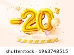 20  off. discount creative... | Shutterstock .eps vector #1963748515