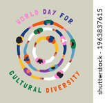 world day for cultural...   Shutterstock .eps vector #1963837615