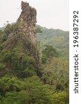 the mystical mountain landscape ... | Shutterstock . vector #196387292