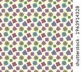 Seamless Pattern  Multicolored...