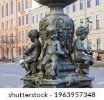 saint petersburg  russia  ...   Shutterstock . vector #1963957348