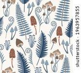 Seamless Nature Pattern Of A...