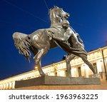 saint petersburg  russia  ...   Shutterstock . vector #1963963225