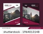 corporate book cover design... | Shutterstock .eps vector #1964013148