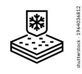 winter fabrics properties line... | Shutterstock .eps vector #1964036812