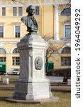 saint petersburg  russia  ...   Shutterstock . vector #1964049292