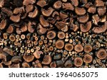 Wooden Background From A Stack...