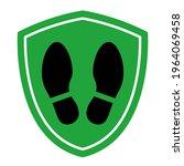 social distancing corona virus... | Shutterstock .eps vector #1964069458