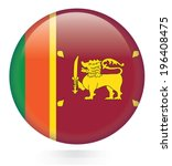 Sri Lanka Flag Button