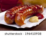 Roasted Sausage With Bread...