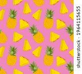 Fruity Seamless Pattern Vector...