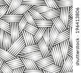 vector abstract seamless... | Shutterstock .eps vector #196413806