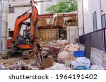 Demolition Of A Building With A ...