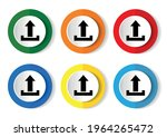 upload  icons  set of modern... | Shutterstock .eps vector #1964265472