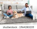 Portrait Of Happy Black Family...
