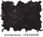 grunge frame. vector template | Shutterstock .eps vector #196430408