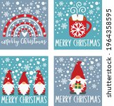merry christmas cards clipart ...   Shutterstock .eps vector #1964358595