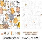 find hidden object in picture | Shutterstock .eps vector #1964371525