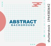 abstract background vector in... | Shutterstock .eps vector #1964383642